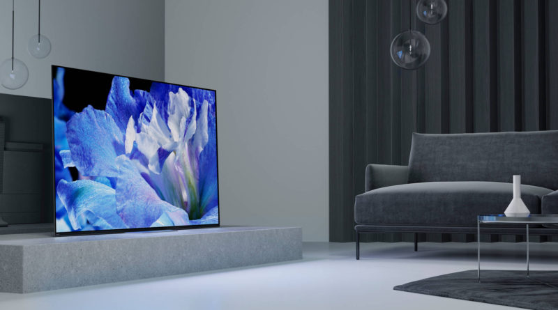 Sony 4K TV OLED A8F con sonido Acoustic Surface