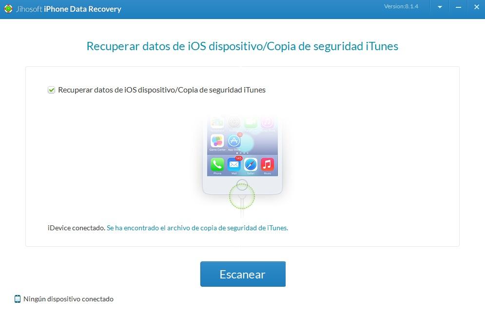 Jihosoft: Recupera datos en el iPhone