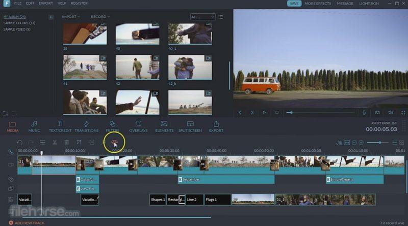 Wondershare Filmora, un editor de vídeo completo