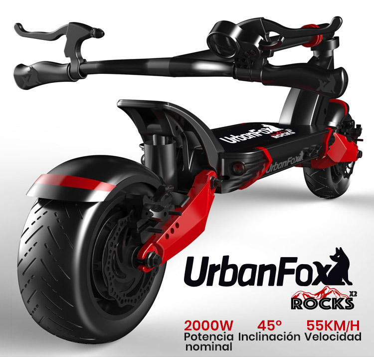 Urban Fox Rocks X2 Limited Edition