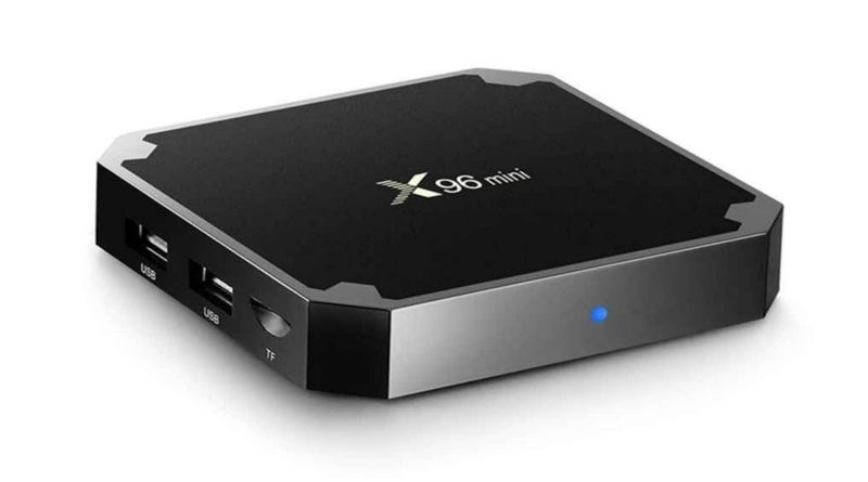 X96mini Tv Box con Android 7.1.2 a $28.99