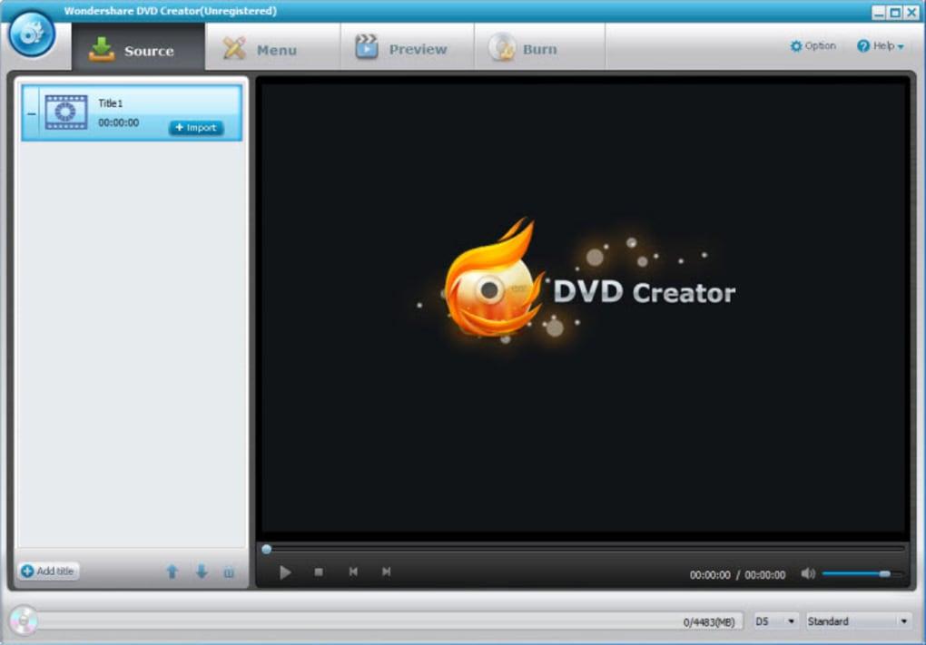 DVD Creator: Un software para crear y grabar DVD