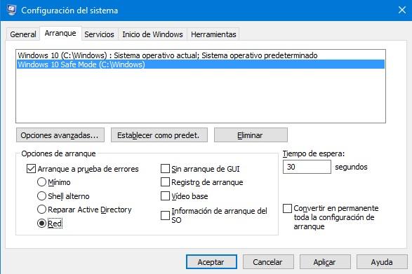 Como iniciar Windows 10 en modo seguro
