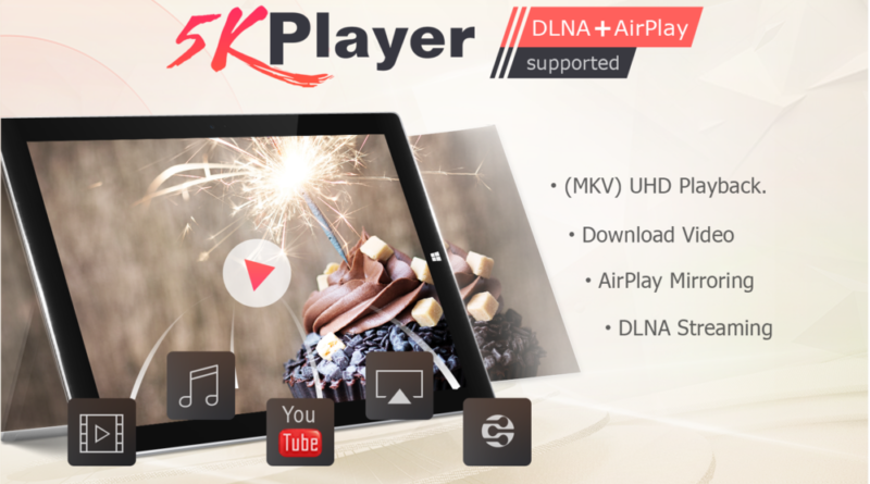 5KPlayer: La mejor alternativa de VLC para descargar y reproducir videos
