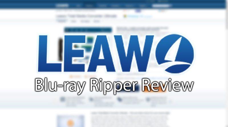 Leawo Blu-ray Ripper: copia DVD de Blu-ray a video / audio en calidad original