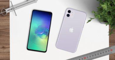 iPhone 11 vs. Samsung Galaxy S10e: Todo lo que tienes que saber