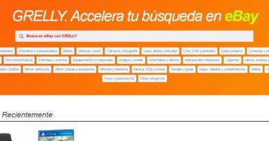 Grelly, el buscador de Ebay con asteroides