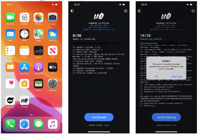 Como hacer Jailbreak en iOS 13 3 Unc0ver
