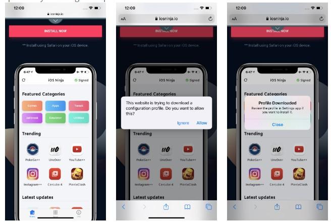 Como hacer Jailbreak en iOS 13 3 - Instalando el perfil