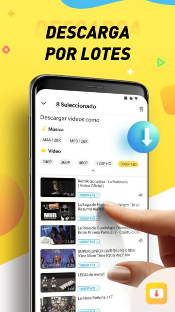 Reseña: Snaptube, descarga música y videos en Android