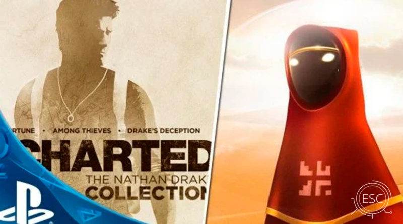 Uncharted 4 y Journey Gratis para usuarios sin PSN Plus
