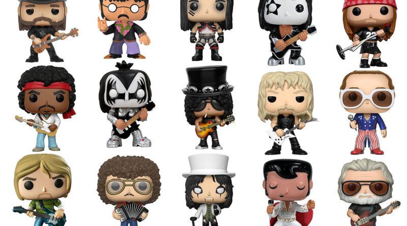 ¡Los mejores Funko Pop! para fanáticos de la música