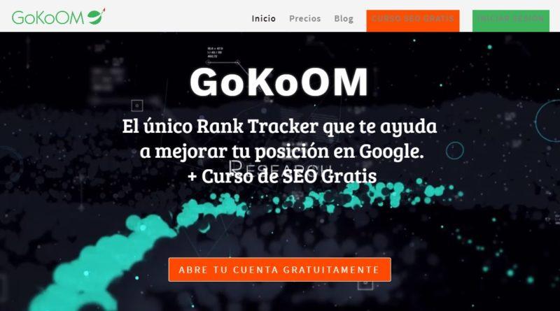 Gokoom. Herramienta de SEO