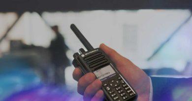 Radios para uso de seguridad