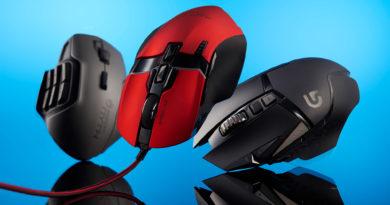 Los 3 mejores mouse para juegos en 2020
