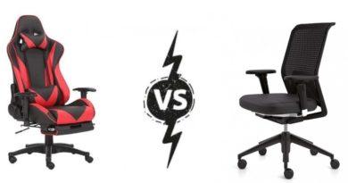 Sillas Gaming vs Sillas de Escritorio - 7 Diferencias