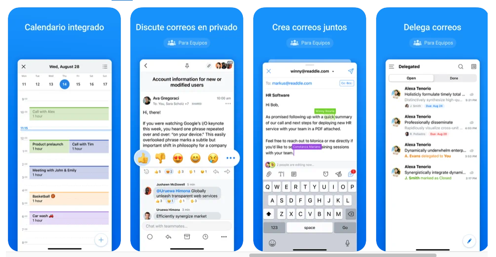 Spark la mejor app para email