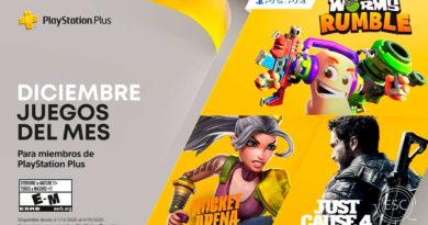 Juegos PlayStation Plus Diciembre 2020