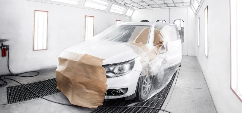 cabina de pintura en tu taller automotriz