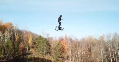 Llega el patinete eléctrico volador