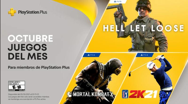 Juegos de PlayStation Plus para octubre 2021