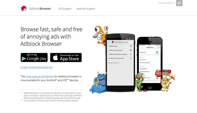 escapedigital-Adblock Browser