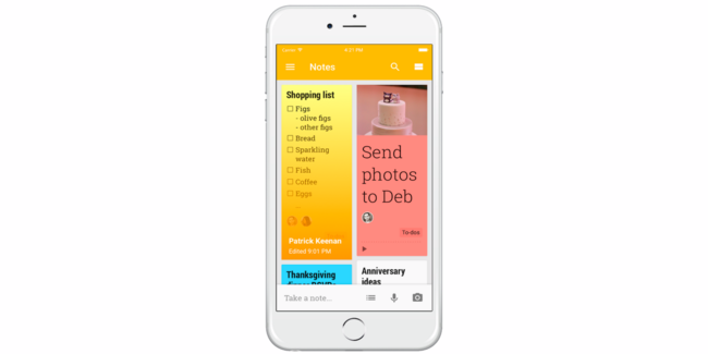 eescapedigital-Google Keep