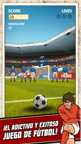 EscapeDigital-App de la Semana: Flick Kick Football