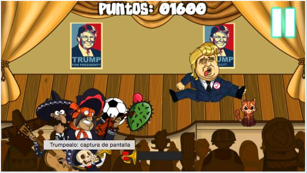 escapedigital-Mexicanos crean un videojuego inspirados en Donald Trump