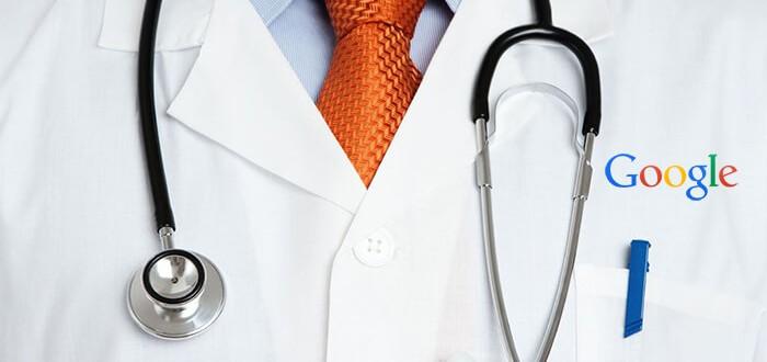 Google dará información médica, pase con el doctor