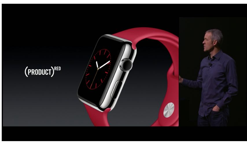 PRODUCT RED Apple Watch