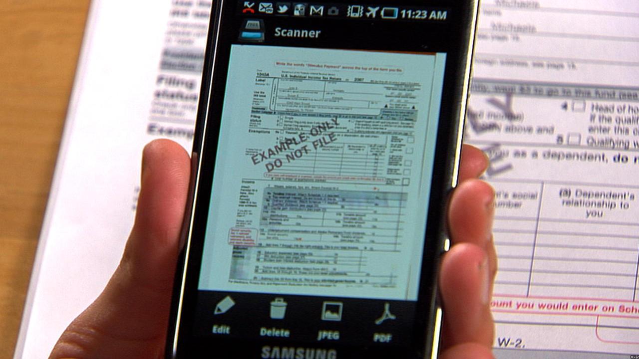 3 apps para escanear documentos