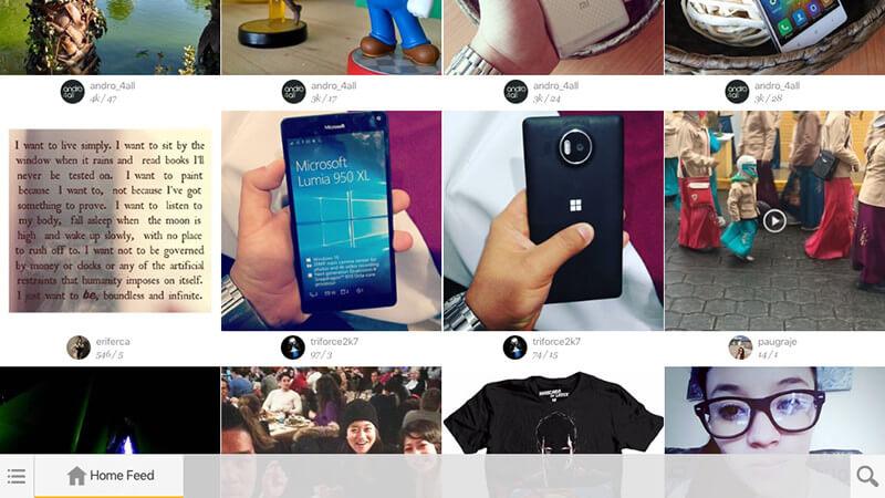los mejores clientes de Instagram para iPad-Fastfeed