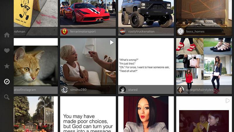 los mejores clientes de Instagram para iPad-Flow