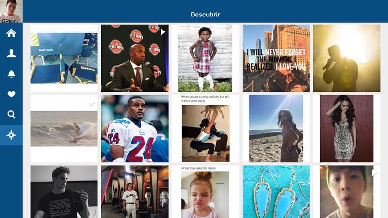los mejores clientes de Instagram para iPad-Retro